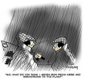 golfing-rain